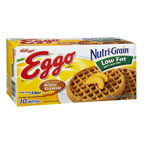 Eggo Low Fat Waffles 55