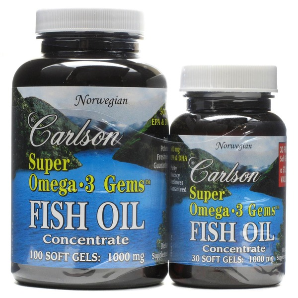 Carlson labs super omega 3 gems fish oil softgels 1000 mg for Whole foods fish oil