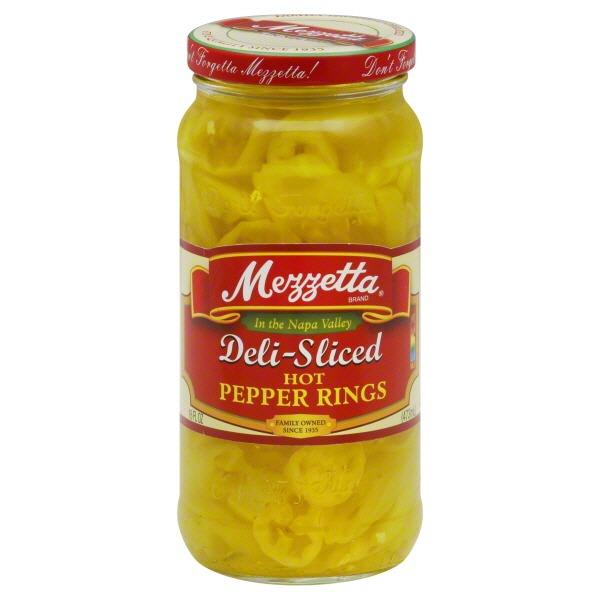 Mezzetta Deli Sliced Hot Pepper Rings
