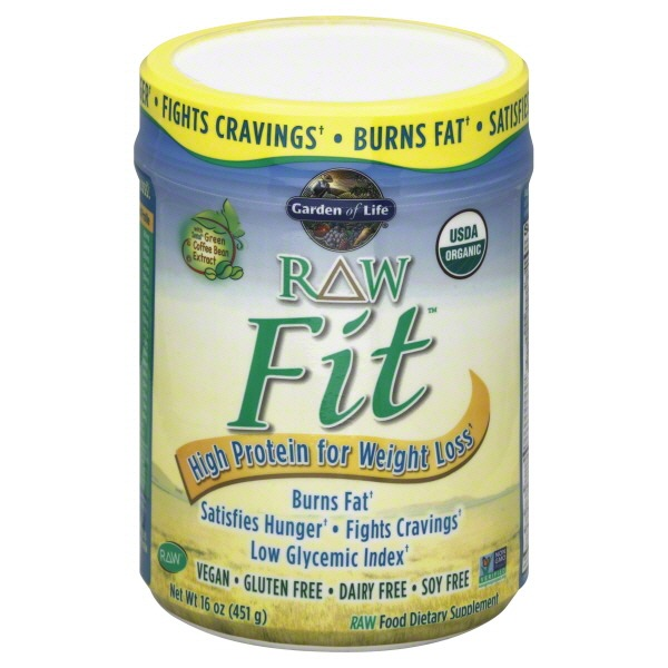 Garden of life raw fit og from whole foods market instacart for Garden of life raw protein weight loss