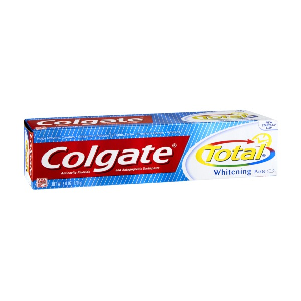 Colgate Total Whitening Anticavity Fluoride ...