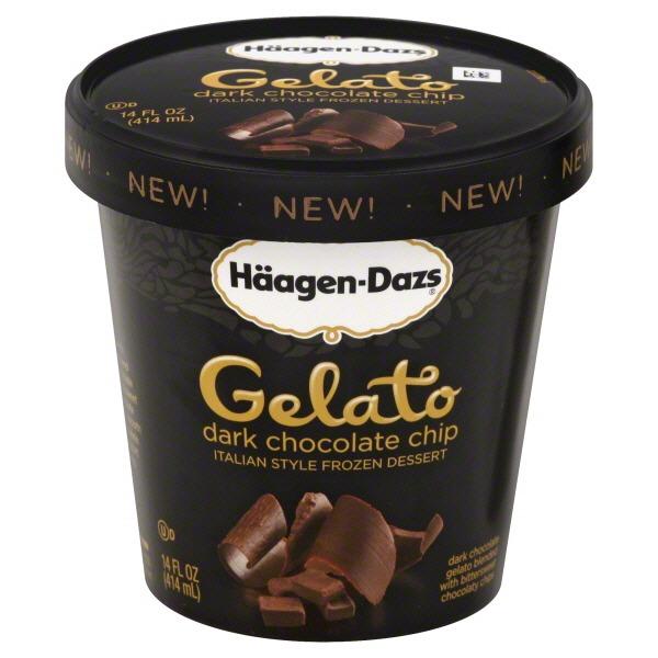 Haagen-Dazs Dark Chocolate Chip Gelato