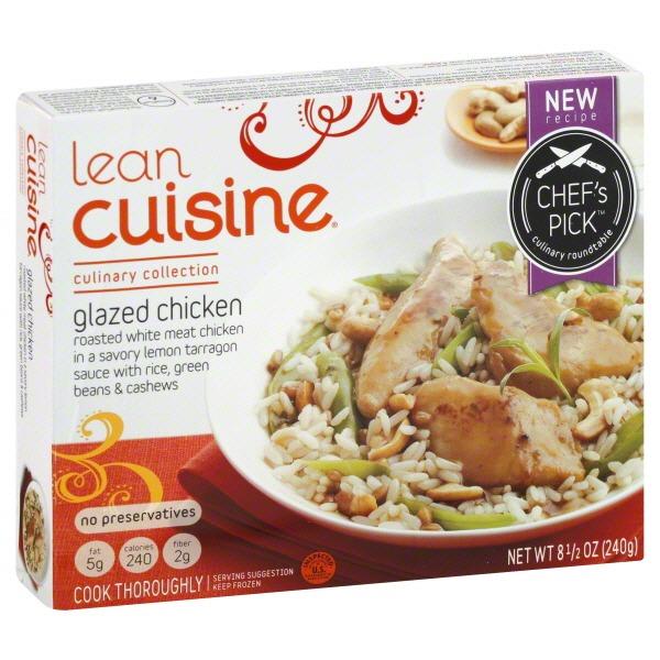 Lean cuisine glazed chicken tenderloins for Average price of lean cuisine