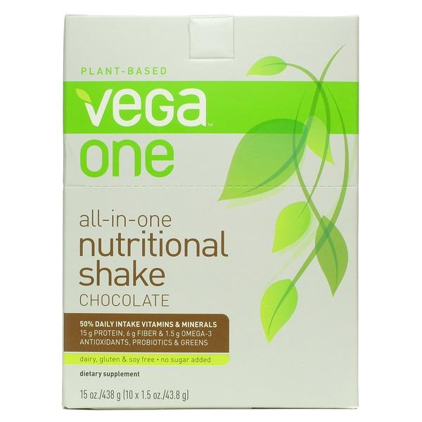 Vega One Nutritional Shake Chocolate Recipes