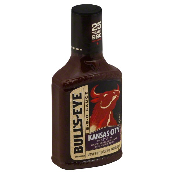 Bull's-Eye Kansas City Style Barbecue Sauce