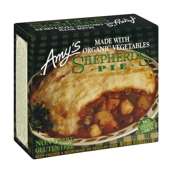 Amy's Vegetable Shepherds Pie - Instacart