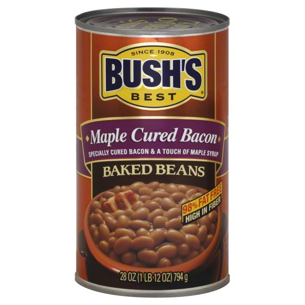 Stores > Bush's Best Maple Cured Bacon Baked Beans