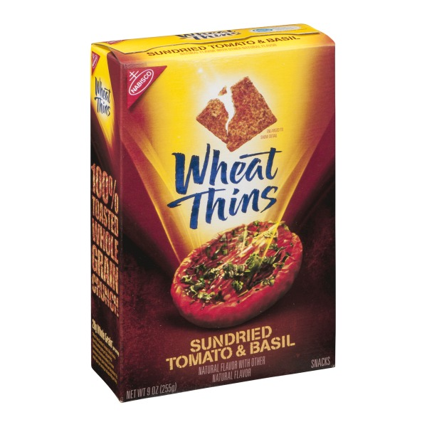 Wheat Thins Sun Dried Tomato Basil Baked Crackers from Smart & Final ...