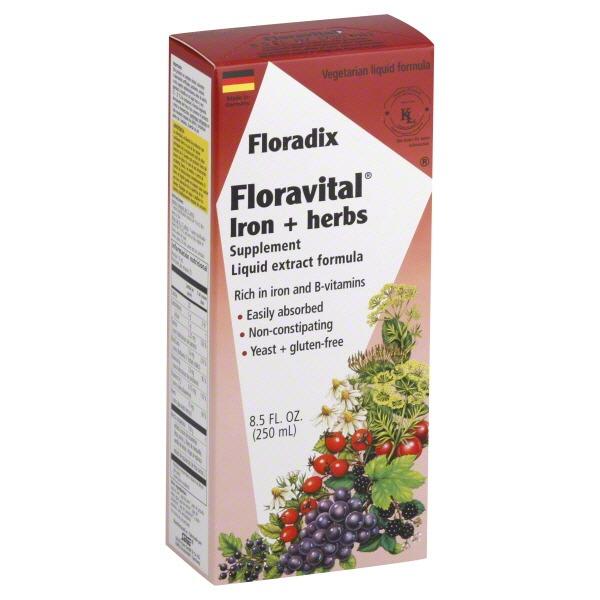 Floradix iron whole foods