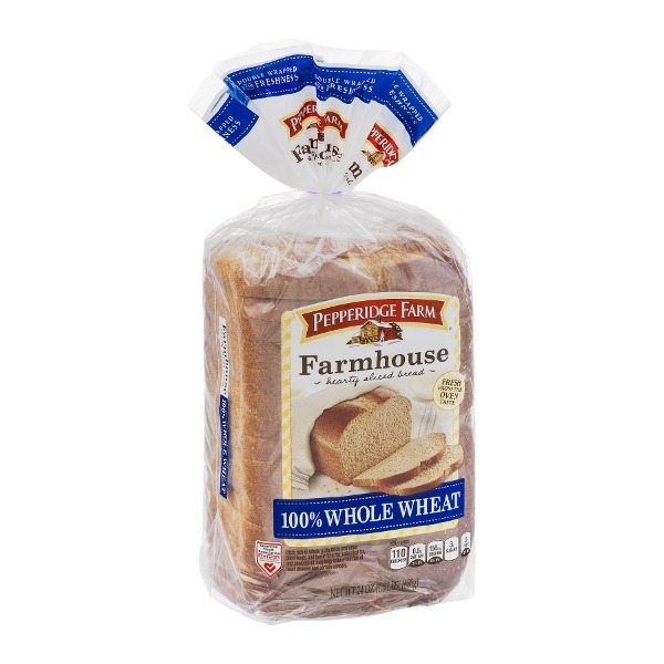 Pepperidge Farm Farmhouse 100% Whole Wheat Bread