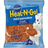 Pillsbury Heat N Go Blueberry Mini Pancakes