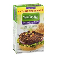 how to cook morningstar black bean burgers
