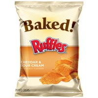 Ruffles Baked Cheddar & Sour Cream Potato Chips