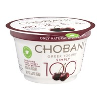 Chobani Black Cherry Greek Yogurt Non Fat