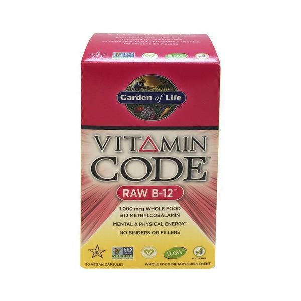 Garden of Life Vitamin Code Raw B-12 from Whole Foods Market - Instacart