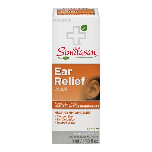 Similasan Homeopathic Earache Relief Ear Drops (0 33 fl oz