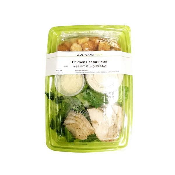 Wolfgang Puck Salad Caesar Chicken (K) (15 oz) from Gelson\'s - Instacart