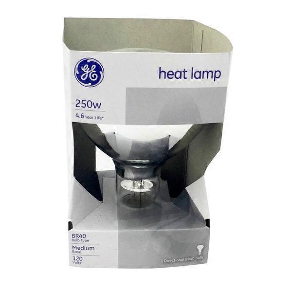 GE 250 Watt Heat Lamp Bulb