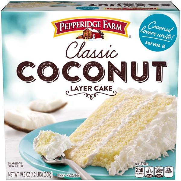 Kroger Pepperidge Farm Frozen Bakery Classic Coconut Layer Cake