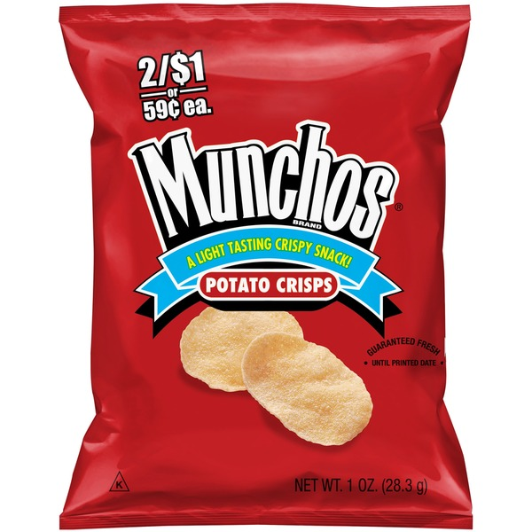 Munchos Nutrition Label