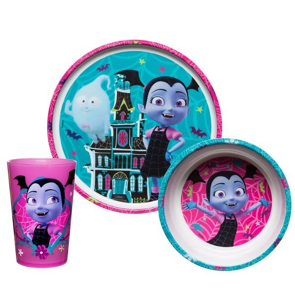 Zak Designs Inc. Blue u0026 Pink Disney V&irina Melamine Kids Dinnerware Set  sc 1 st  Instacart & Zak Designs Inc. Blue u0026 Pink Disney Vampirina Melamine Kids ...