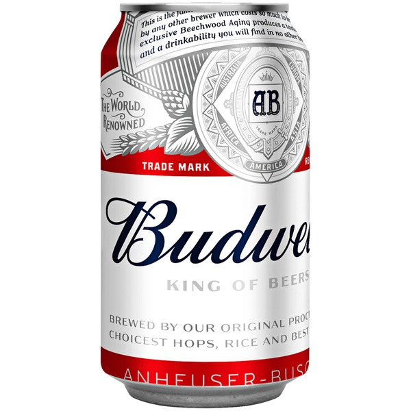 Budweiser beer cans from stop shop instacart - Budweiser beer pictures ...