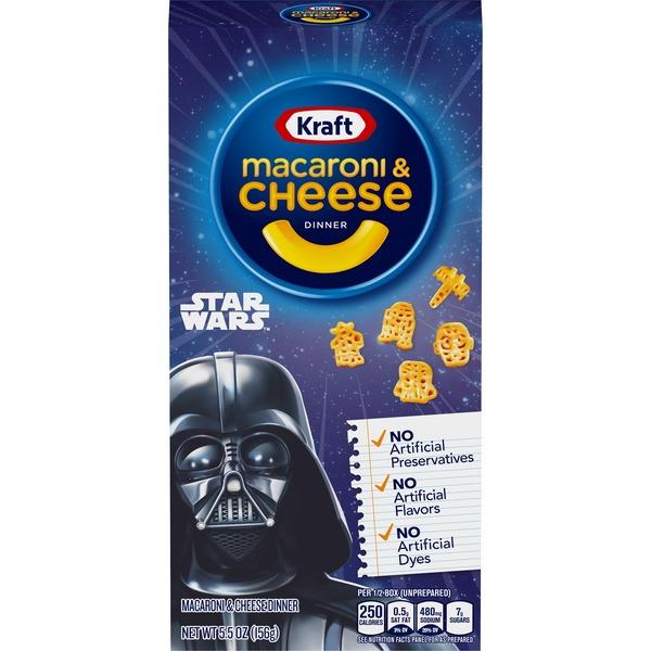 Kraft Macaroni & Cheese Dinner Unicorn Shapes