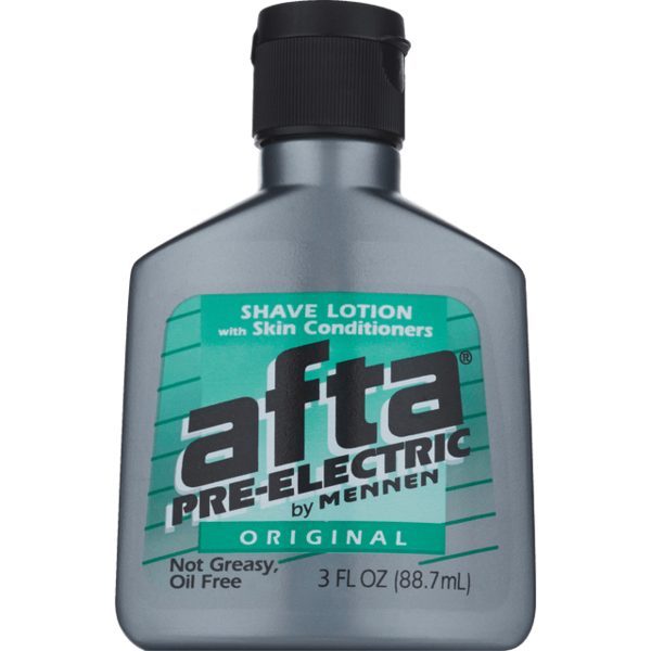 Afta Pre Electric Shave Lotion With Skin Conditioners Original