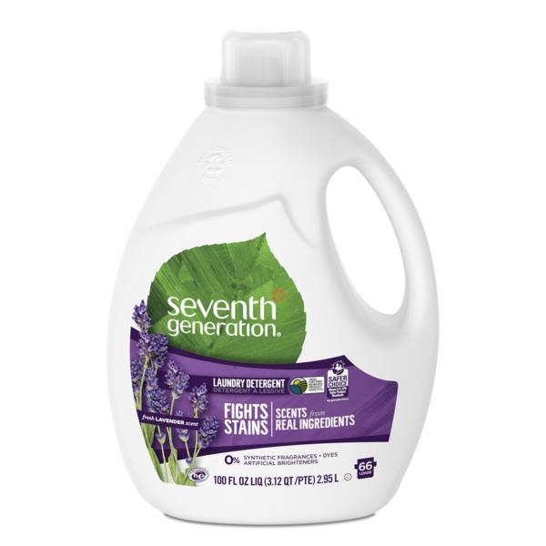 Seventh Generation Liquid Laundry Detergent Fresh Lavender