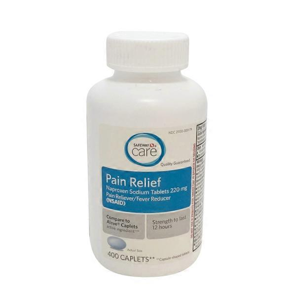 Signature Care Pain Relief Naproxen Sodium 220 Mg 400 Ct From