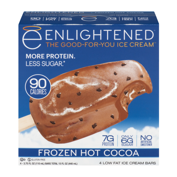 Enlightened Ice Cream At Stop Shop