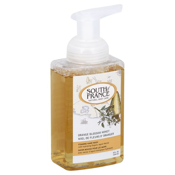 South of France Hand Wash, Foaming, Orange Blossom Honey
