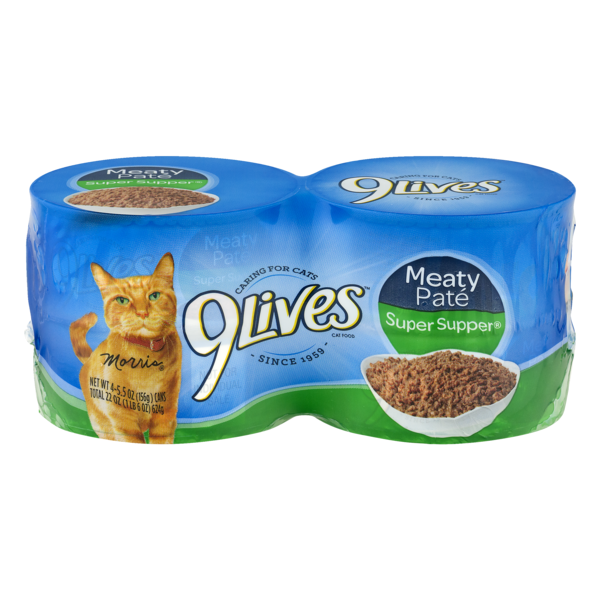 9 Lives Wet Super Supper Wet Cat Food From Lunds Byerlys
