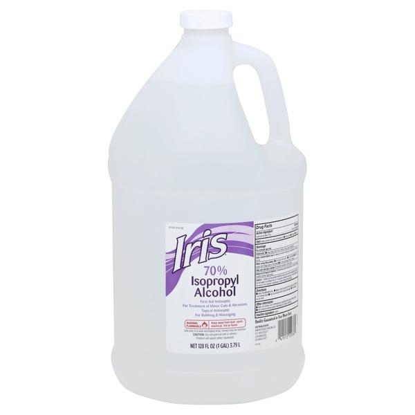 Iris Isopropyl Alcohol, 70% (128 oz) from Smart & Final
