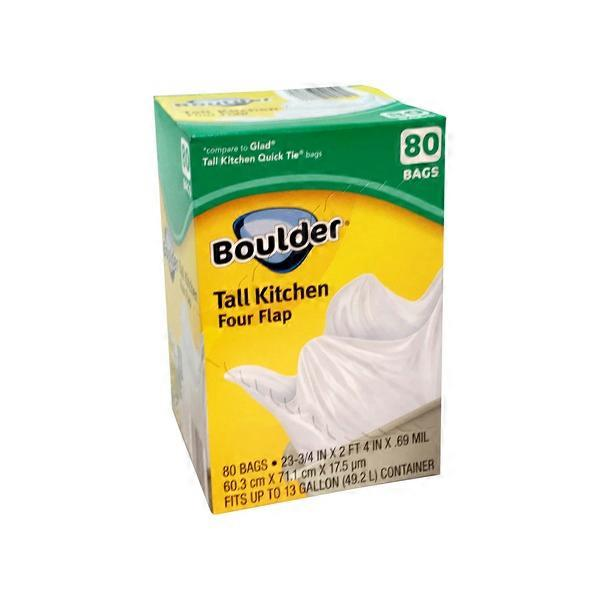 Boulder Four-Flap Tall Kitchen Bags (80 ct) from ALDI - Instacart