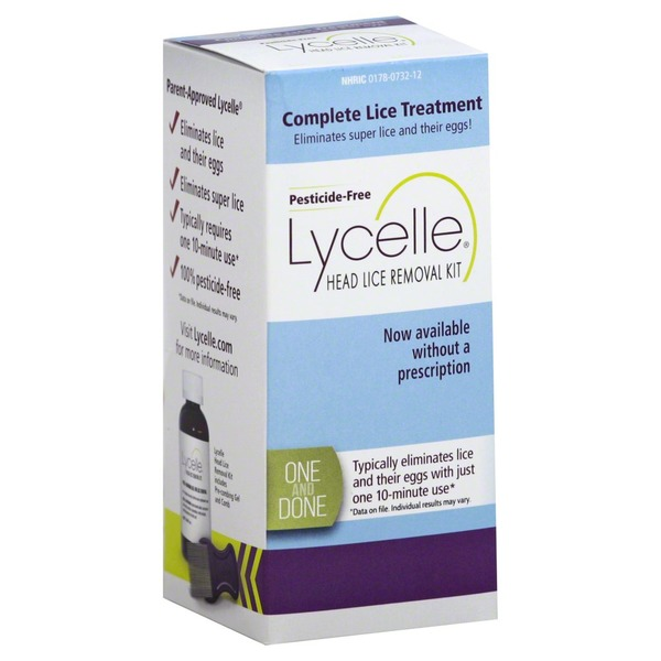 Lycelle Head Lice Removal Kit 1 Ea From H E B Instacart