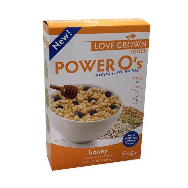 Love Grown Foods Honey Power O's