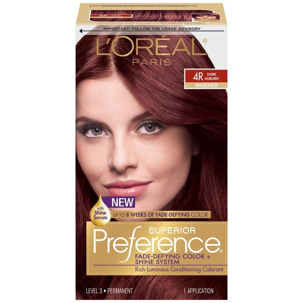 Superior Preference Warmer 4r Dark Auburn Hair Color From Acme