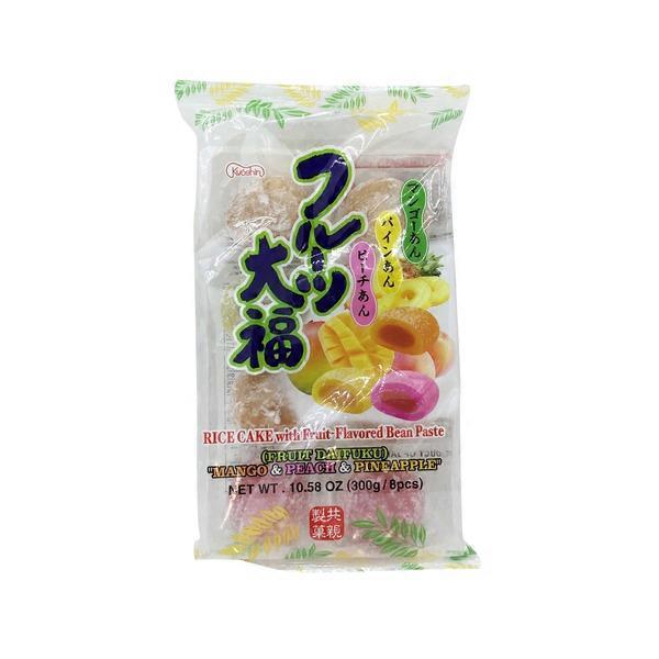 Kyoshin Daifuku Rice Cakes WIth Fruit Flavored Bean Paste