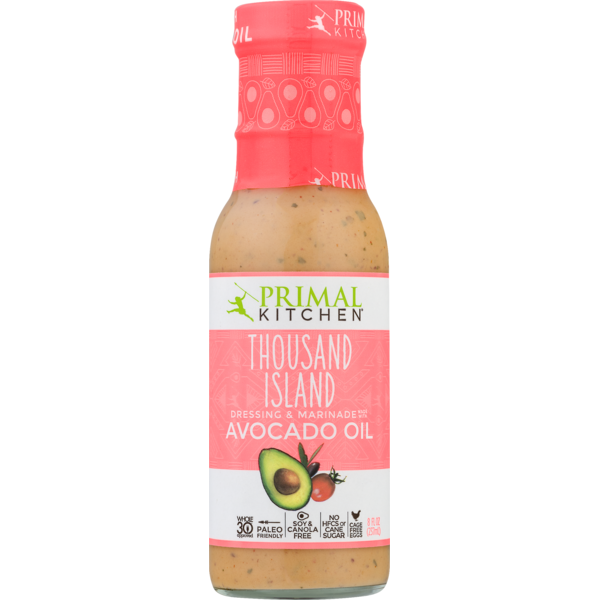 0f1c5a4bc Primal Kitchen Dressing & Marinade Made With Avocado Oil Thousand Island
