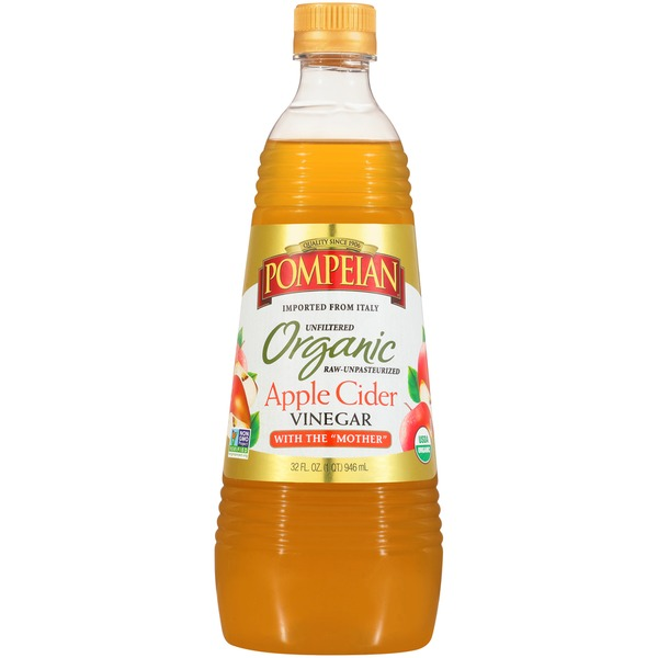 Pompeian Organic Apple Cider Vinegar From Publix Instacart