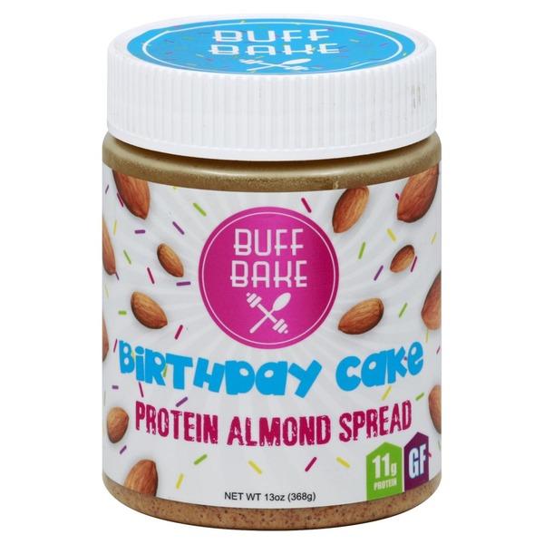 Buff Bake Spread Protein Almond Birthday Cake 13 Oz From Wegmans
