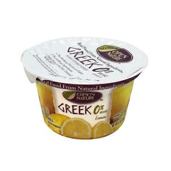 Open Nature Greek Strained Nonfat Yogurt from Safeway