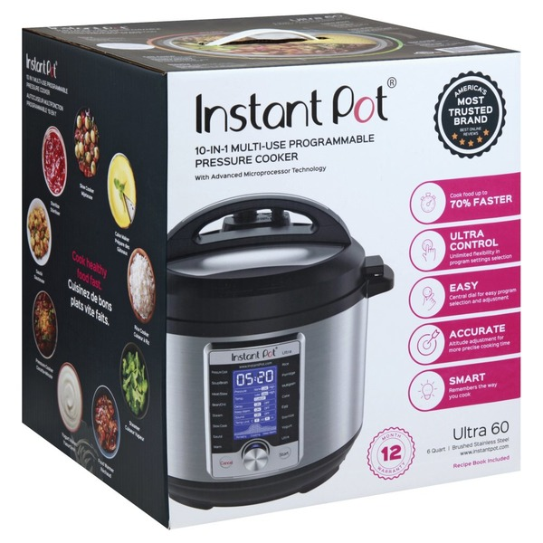 Instant Pot DUO80 V2 8 Quart 7-in-1 Multi-Use Programmable Pressure Cooker NEW
