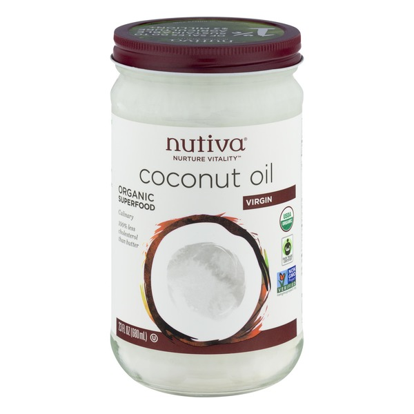 Nutiva Coconut Oil (23 fl oz) from Sprouts Farmers Market - Instacart