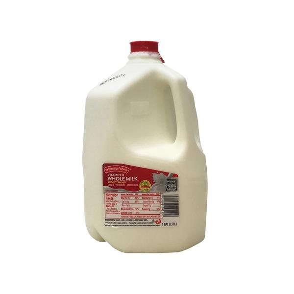 Friendly Farms Vitamin D Milk (1 gal) from ALDI - Instacart