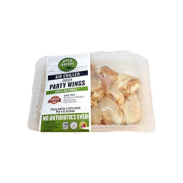Open Nature Air Chilled Chicken Party Wings (per lb) from