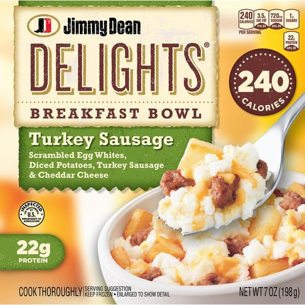 Jimmy Dean Delights Breakfast Bowl Turkey Sausage From Pick N Save
