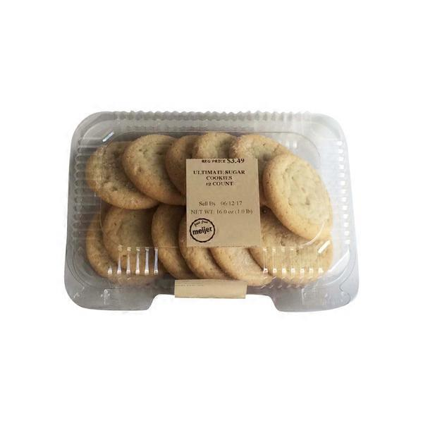 Meijer Ultimate Sugar Cookies 12 Ct From Meijer Instacart