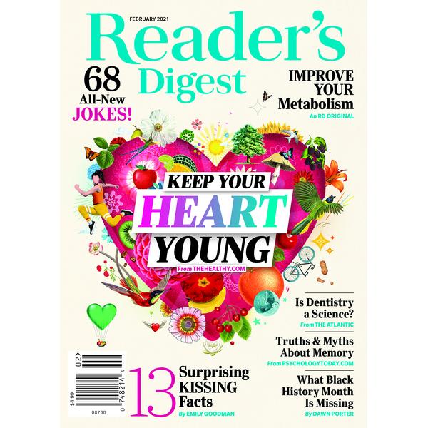 Readers Digest Gewinnspiel 2021